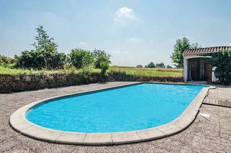 farmhouse in nouvelle Aquitaine with pool